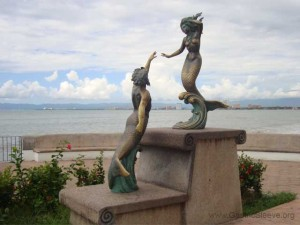 Artwork on Malecon in Puerto Vallarta