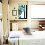 Patient Room at Clinica San Juan in TJ, MX