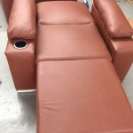 Sofa-cum-bed for accompanying guest at Clinica San Juan in Tijuana